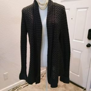 Matty M grey cardigan size medium
